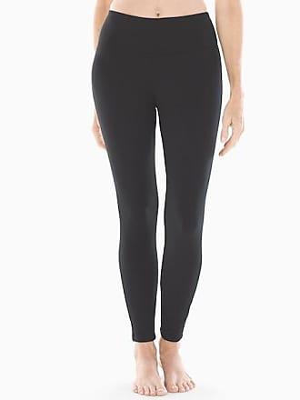 Soma Style Essentials Smoothing Fine Fleece Leggings, Black, Size XXL