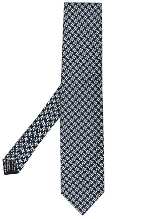 Tom Ford printed tie - Azul