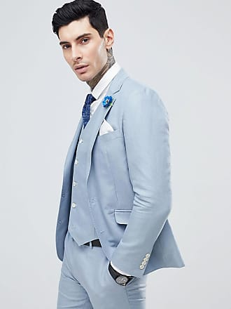 9bdf57db115f Gianni Feraud Wedding Slim Fit Linen Plain Suit Jacket