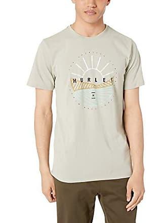 b2e63b22 Hurley Mens Nike Dri-Fit Premium Short Sleeve Tshirt, Spruce Fog M