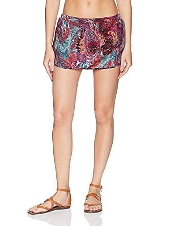 Sunsets Womens Seaside Skirt, Paisley Peacock, X-Large