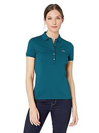 e3e00201e Lacoste Womens Classic Short Sleeve Slim FIT Stretch Pique Polo