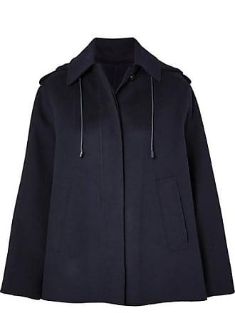 Joseph Carbon Wool-blend Felt Coat - Navy