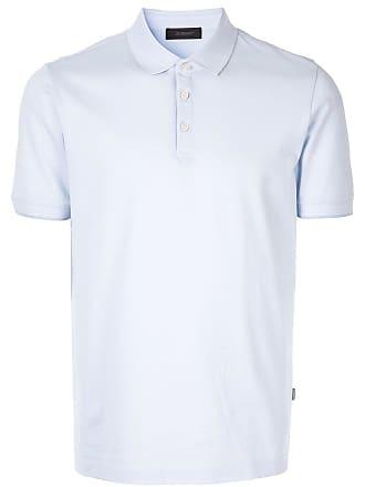 Durban Camisa polo mangas curtas - Azul