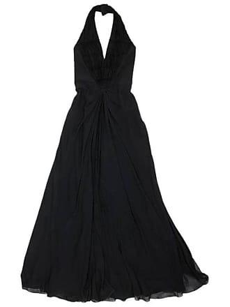 1c4ae1fb6f5 Dior By John Galliano Long Dress In Black Silk Size 36fr