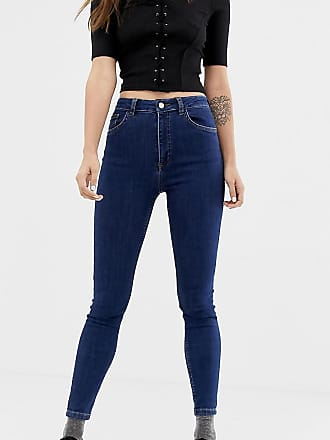 Reclaimed Vintage The 90 - Jeans skinny stone wash scuri-Blu