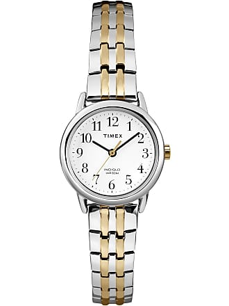 Timex Watch Womens Easy Reader 25MM Bracelet white Item T2P2989J