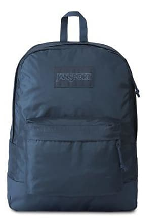 Jansport Mono Superbreak Backpacks - Dark Denim Blue
