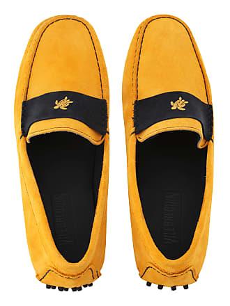 Vilebrequin Men Accessories - Men Very soft Daim Loafers Solid - SHOES - JOHN - Orange - 42 - Vilebrequin