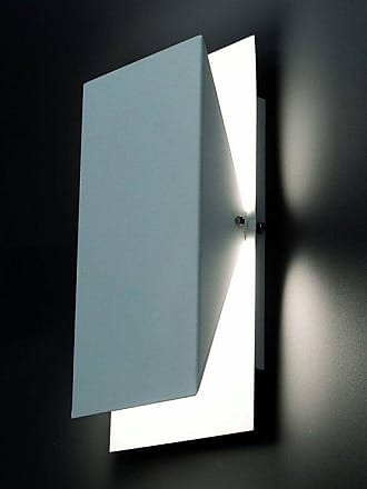 Faro HOMS-Applique Métal Rectangulaire Inclinable H36cm Blanc Faro