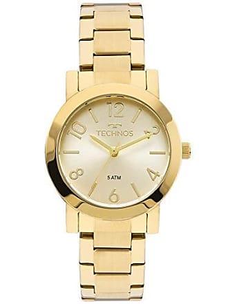 Technos Relógio Technos Feminino Ref: 2035mln/4x Casual Dourado