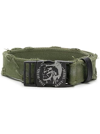 Diesel distressed belt - Verde
