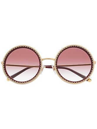 fb10ee182fc5 Dolce   Gabbana® Round Sunglasses − Sale  up to −91%