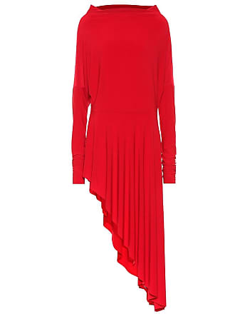 Norma Kamali Asymmetric stretch-jersey dress