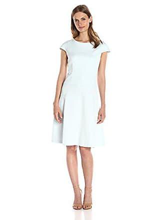 371f70b5 Lark & Ro Womens Cap Sleeve Fit and Flare Dress, Water, ...