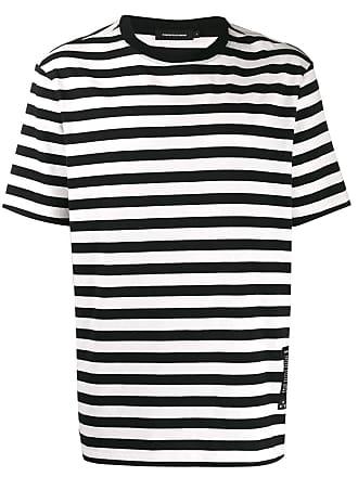 Odeur Camiseta listrada - Preto
