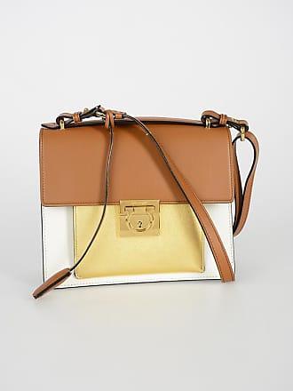48f4a733054f Salvatore Ferragamo Leather MARISOL Shoulder Bag size Unica