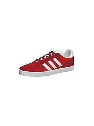 new concept d8b00 f7ac7 adidas Adidas Chattan Schuhe Turnschuhe Sneaker Herren Leder rot-weiss NEU