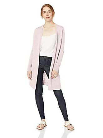 Daily Ritual Womens Lightweight Duster Cardigan, Pale Pink, XX-Large