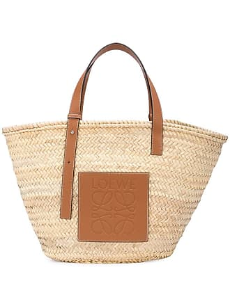 Loewe Neutral Raffia Straw Bag - The Webster