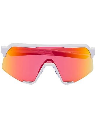 100% Eyewear Óculos de sol com lentes intercambiáveis S3 - Branco
