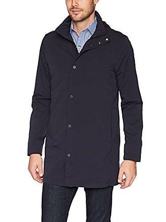 J.Lindeberg Mens Tech Nylon Coat, Dark Navy, Medium