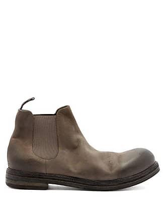 Marsèll Zucca Suede Chelsea Boots - Mens - Grey