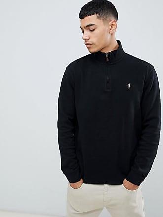 036fdde9e6b Polo Ralph Lauren Jersey de punto de algodón con media cremallera y logo de  varios jugadores