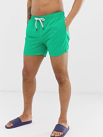 62165ad9d0ef Tommy Hilfiger Short de bain court avec cordon de serrage - Vert - Vert
