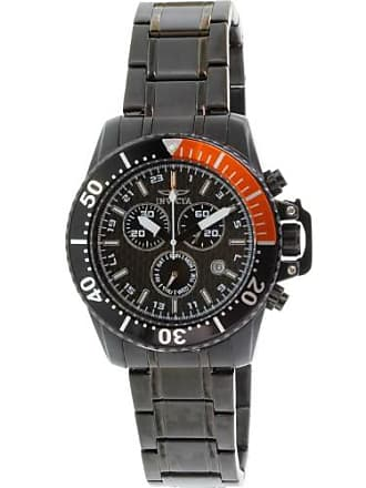 Invicta Mens Pro Diver 11290 Black Stainless-Steel Swiss Chronograph Watch