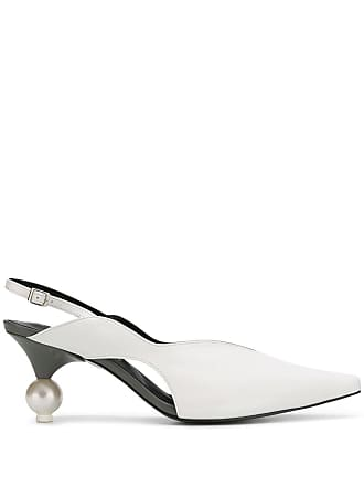 Yuul Yie pearl heel pump - White