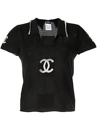 Chanel short sleeve T-shirt - Black