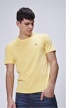 Damyller Camiseta Fit Masculina Tam: M/Cor: AMARELO CLARO