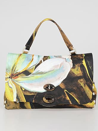 Zanellato Hand Painted Leather POSTINA Saddle Bag size Unica