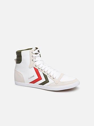 890a9b622a38ee Hummel Hummel Slimmer Stadil High canvas - Sneaker für Herren   weiß