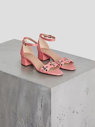 5a5afad18b4 BCBGeneration Fifi Studded Microsuede Sandal