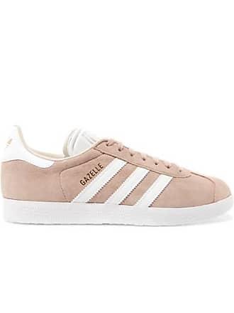 wholesale dealer 205d1 e8bbd adidas Originals Gazelle Sneakers Aus Veloursleder - Puder