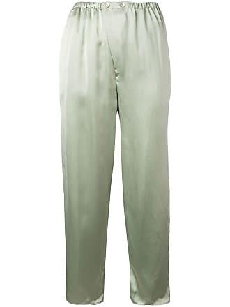 Forte_Forte Calça cintura média - Verde