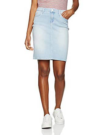 13ff11556cd Tommy Hilfiger Rome RW Skirt ShirleyJupe - Femme - Blue (Shirley)42 (Taille