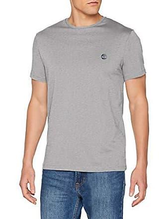 6ca2717c4d5c47 Timberland SS Crew Chest Logo Tee T-Shirt, Grigio (Medium Grey Heather 052