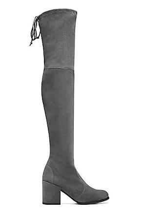 91da2989309 Stuart Weitzman Stuart Weitzman - The Tieland Boot In Slate Medium Gray -  Size 41.5