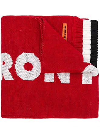 HPC Trading Co. Cachecol de tricô canelado - Vermelho