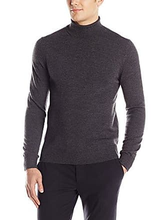 Vince Camuto Mens Turtleneck Sweater, Charcoal, Small