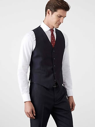 Hackett Mens Suit Waistcoat | Size 38Regular | Midnight Blue