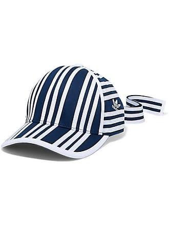 a1514685bac adidas Originals + Ji Won Choi Striped Cotton-twill Baseball Cap - Navy