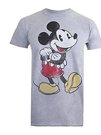 3d2847328d66fc Disney Vintage Mickey T-Shirt, Grigio (Sport Grey), M Uomo