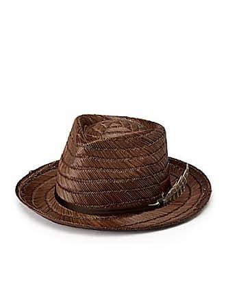 Brixton Crosby woven straw hat