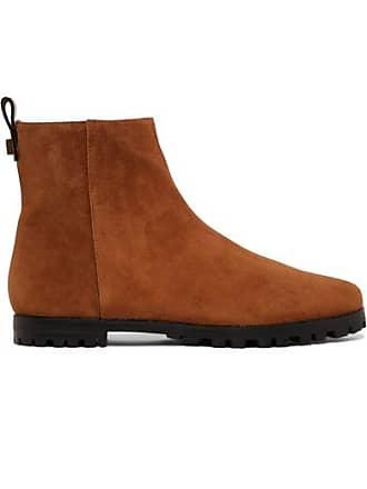 Stuart Weitzman Riley Suede Ankle Boots - Tan