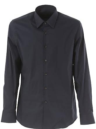 02c997871b Prada Camicia Uomo On Sale, Blu, Cotone, 2017, 40 43