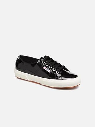 287e06dc52 Superga 2750 Lea Patent W - Sneaker für Damen / schwarz